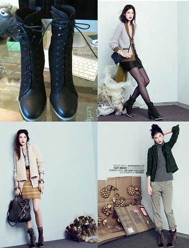J.Crew Eliza Lace-Up Boots