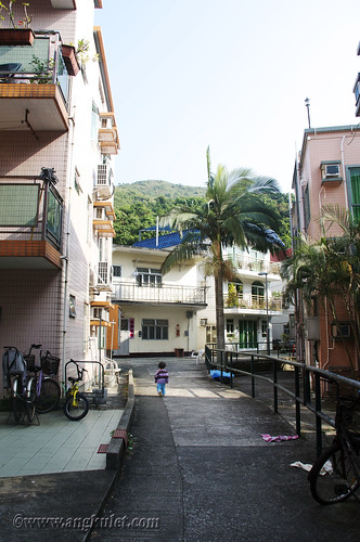 Lia in Wong Tong Village, Mui Wo, Lantau Island, HK 2010