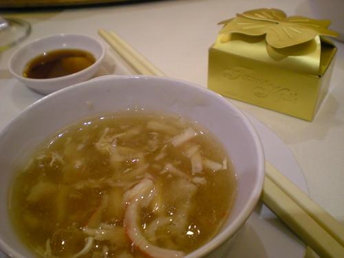 Shark's fins soup