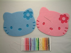DIY Felt Kit for cookie and place mat