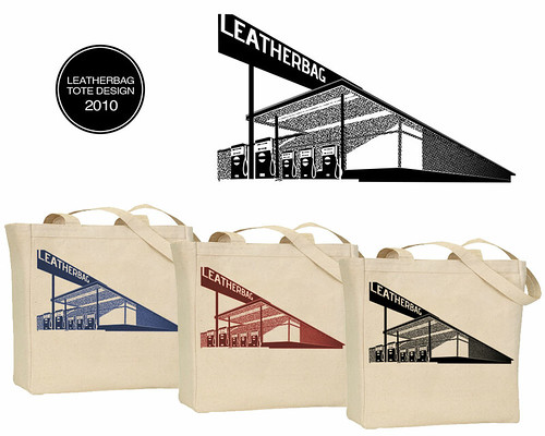 Tote Design and Logo for Leatherbag.
