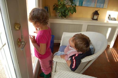 Pheobe and Devon Watching