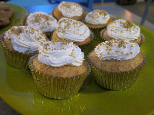 Solid Gold Cupcakes