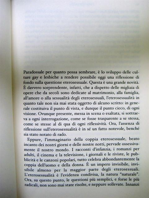 Louis-Georges Tin, L'invenzione della cultura eterosessuale, .due punti edizioni 2010; progetto grafico e impaginazione: .:terzopunto.it; incipit (part.), 1