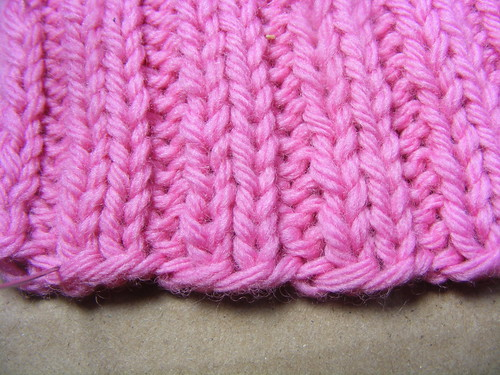 Long Tail on Ribbing