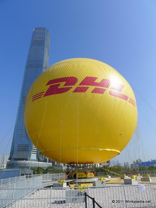 DHL Hong Kong Balloon