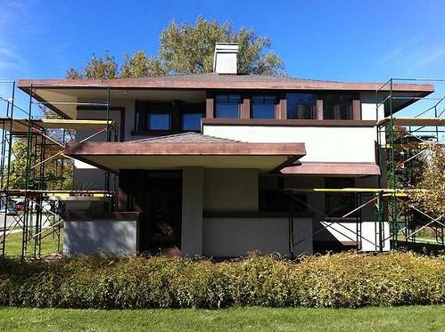 Frank Lloyd Wright Stockman House Mason City, Iowa