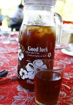 [美食.台南]岩頂咖啡~鮮嫩多汁桶仔雞 @VIVIYU小世界