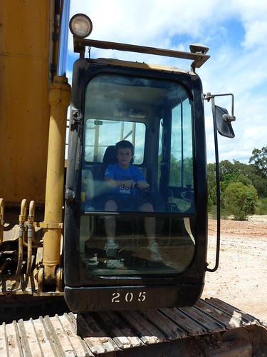 Jacob in the digger