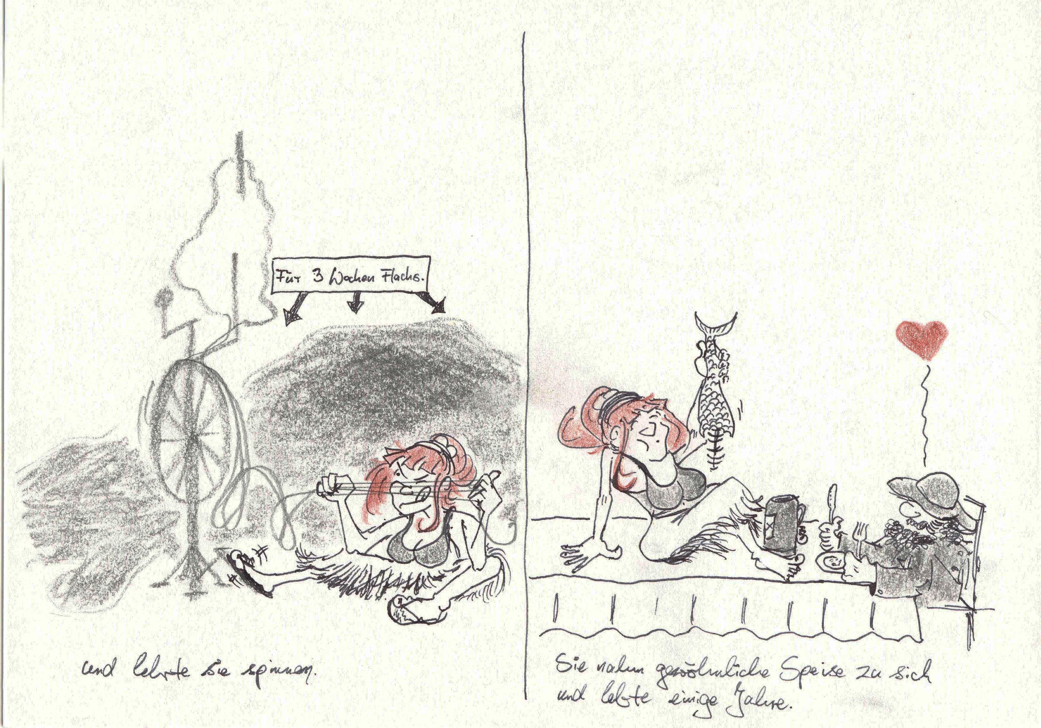 Heinrich von Kleist, Wassermänner und Sirenen, Teil 3 von 5