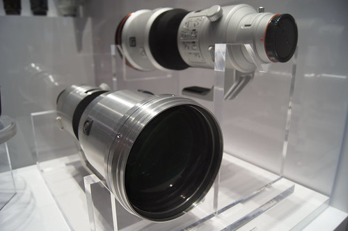 500mm F4 G A-mount Telephoto Lens Prototype