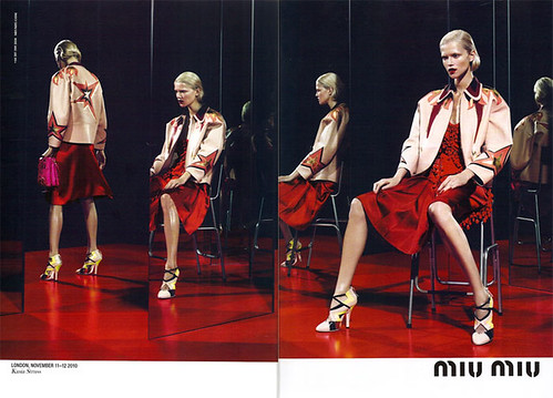miumiu by mert and marcus spring 2011