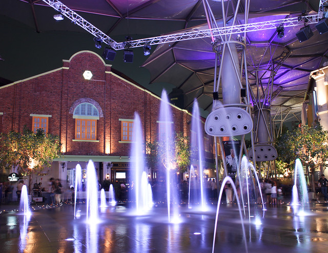 Fountains at Clarke Quay