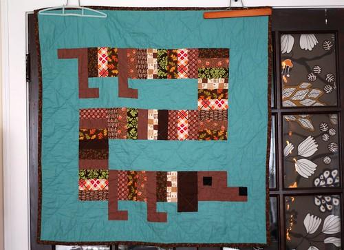 lap dog quilt (front)