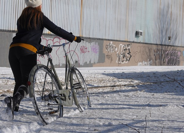 Snow Bike Launch