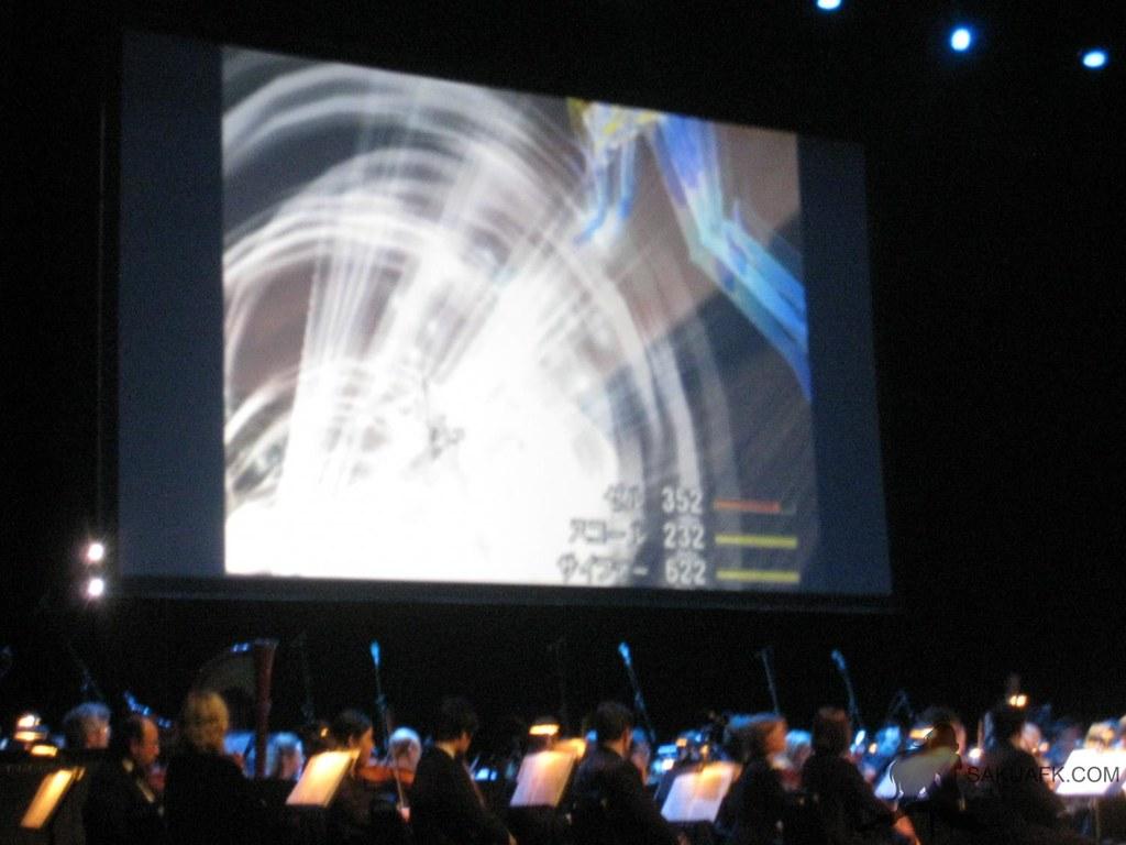 Final Fantasy Distant Worlds Concert - Final Fantasy VIII battle