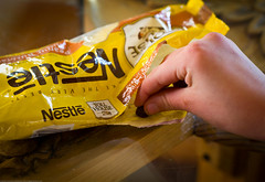 Snitching Nestle Chocolate Morsels