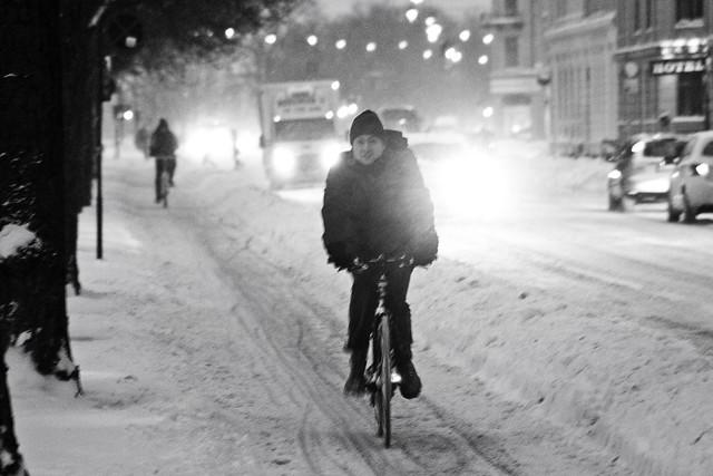 Snowstorm Evening