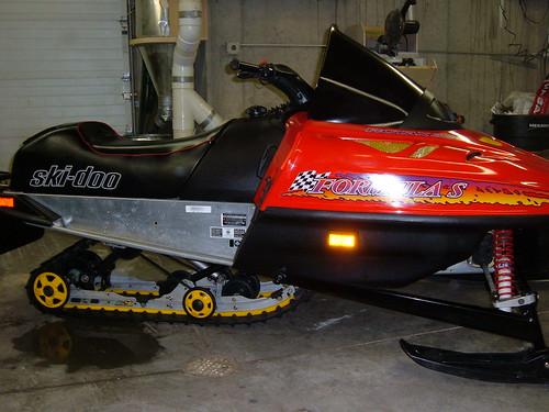1996 Ski Mxz 583 Doo Stx