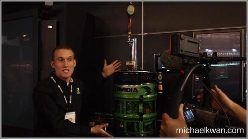 NVIDIA Computer Keg (CES 2011)