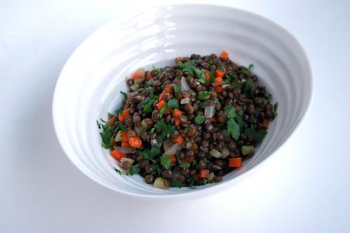 Warm Lentil Salad I