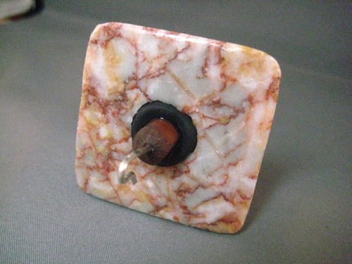 SQUARE RED LINE AGATE