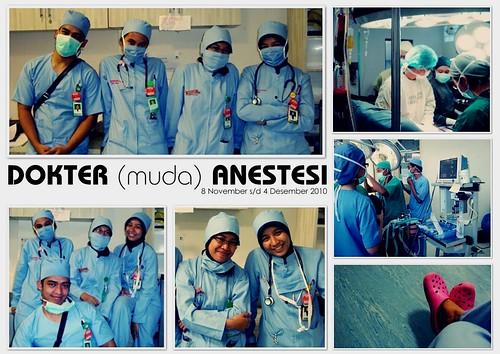 dokter (muda) anestesi