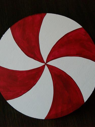 Peppermint Disc Tutorial, Step 2