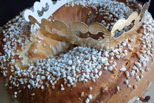 Galette des rois briochée / Twelve Night Cake / King Cake