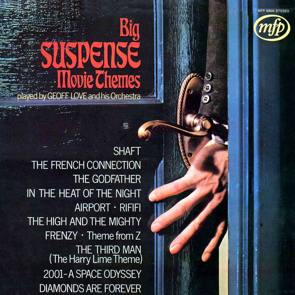 Geoff Love - Big Suspense Movie Themes