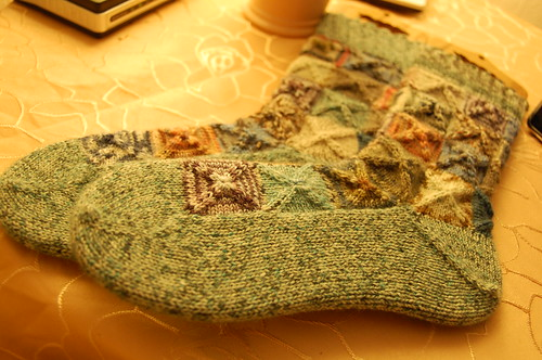Mod Quad Left over socks