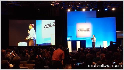 Asus Press Conference (CES 2011)