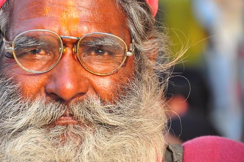 Old Indian Man Portrait