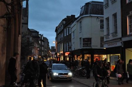 Crowded Cambridge
