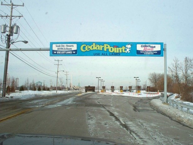 Cedar Point - Off-Season Toll Booths