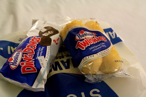 Monday v 2: Twinkies and Ding Dongs!