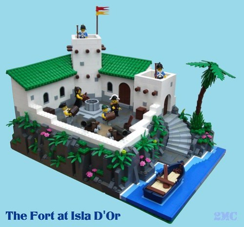 The Fort at Isla D'Or