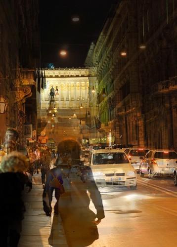 Via del Corso, una sera