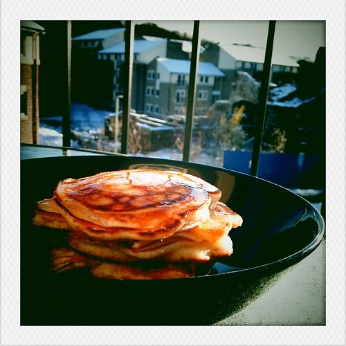 Pancakes & Snow