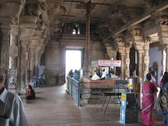 Shiva shrine front mandapam