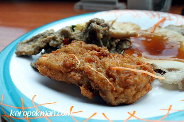 Yummy fried chicken!