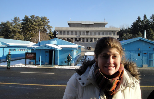 At the DMZ (sorry mom and dad!)