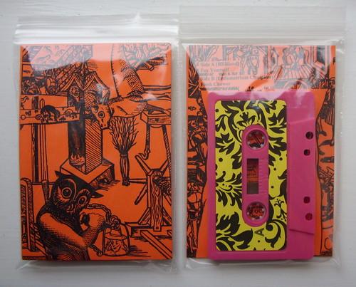 BBBlood / Endometrium Cuntplow: Split C40, edition of 22 (Quagga Curious Sounds)