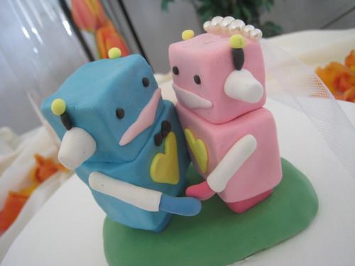 robots <3 cake!
