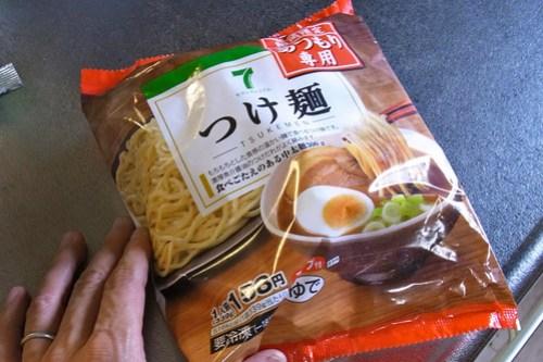 セブンプレミアムのつけ麺