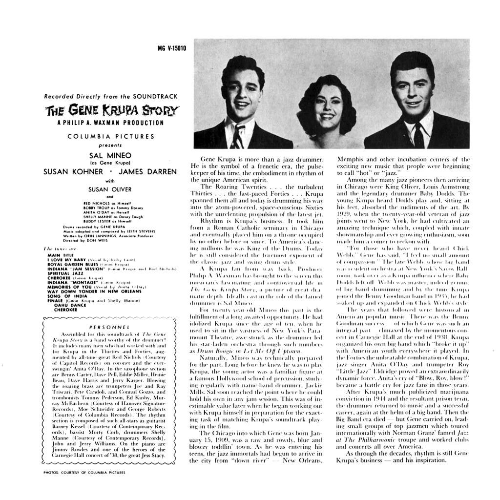 Leith Stevens - The Gene Krupa Story