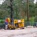 Brockwood Park School Pavilions Project - Drilling the Foundations (351/365)