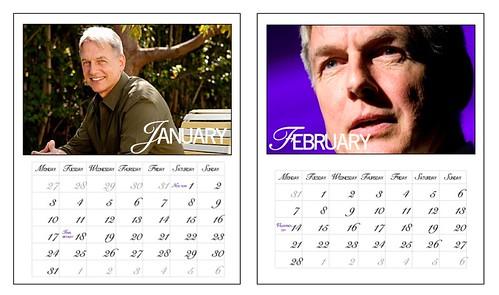 Mark Harmon calendar