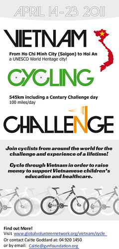 Flyer - Vietnam Cycling Challenge