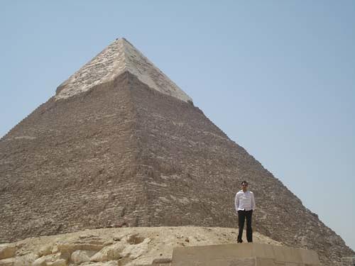 Pyramid of KhafRa:: Giza, Cairo_monmajhi